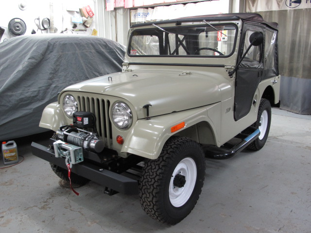1965 Cj5 Jeep Completed American Auto Restoration